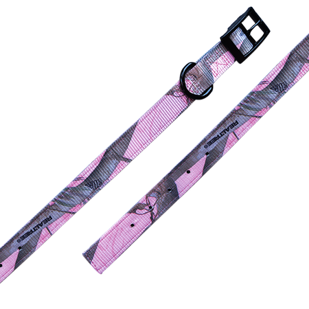 "Nylon Dog Collar, Standard, 1"" Wide, Realtree APC Pink Camo"