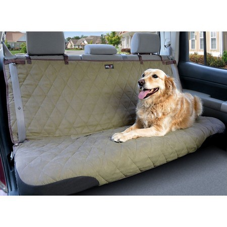 PetSafe, Deluxe Bench Seat Cover, Tan