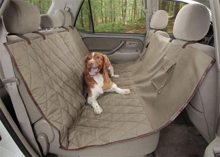 PetSafe, Deluxe Hammock Seat Cover, Tan