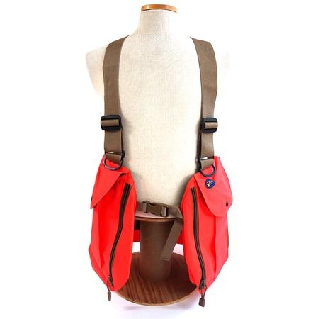 Pineo, Avatar Upland Hunting Vest, Hunter Orange