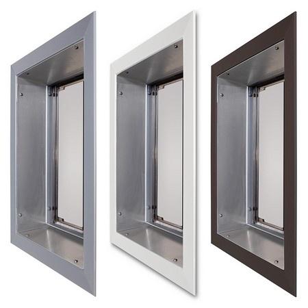 PlexiDor Pet Doors, Door Mount