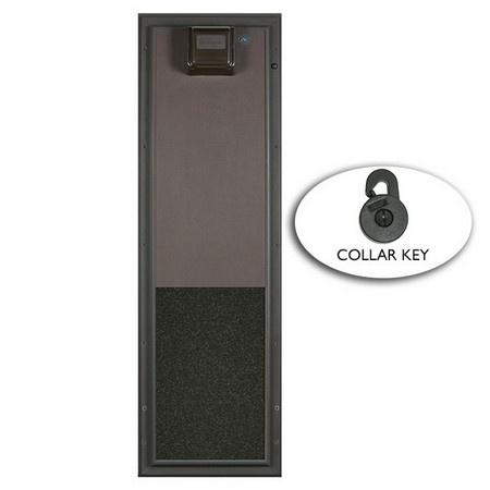 PlexiDor Pet Doors, Electronic Pet Doors, Door Mount, Large