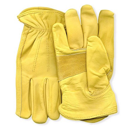Premium Grain Double Leather Palm Cowhide Gloves