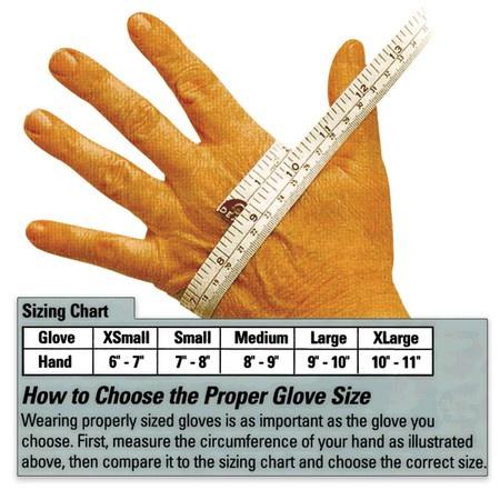 Premium Grain Double Leather Palm Cowhide Gloves