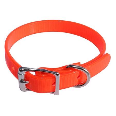 Puppy Collar, Single, Large, Orange