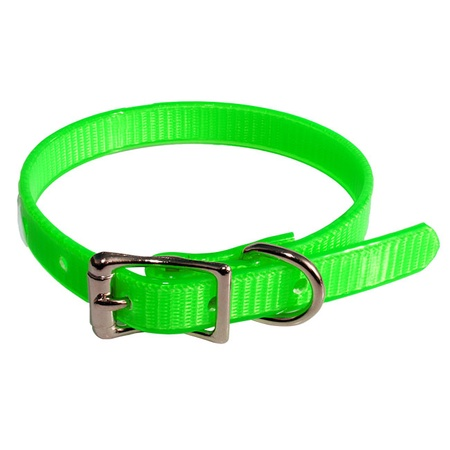 Puppy Collar, Single, Large, Green