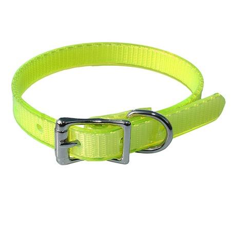 Puppy Collar, Single, Large, Yellow