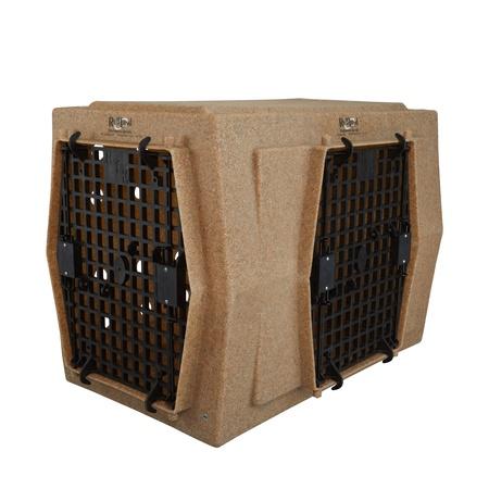 Ruff Land, Intermediate Kennel, Double Doors Right Side Entry
