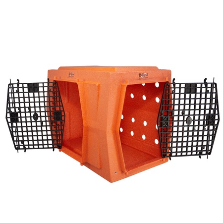 Ruff Land, Large Kennel, Double Doors Left Side Entry