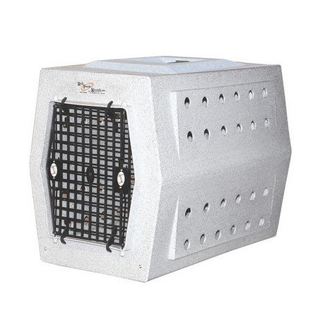 Ruff Land, Medium Kennel, Single Door, Whitestone