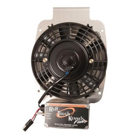 "Ruff Land, RTK Fan (7"" Hanging  Bracket) with Cigarette Power Cord"