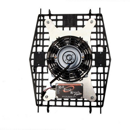 "Ruff Land, RTK Fan (7"" Turtle Plate) with Cigarette Power Cord"