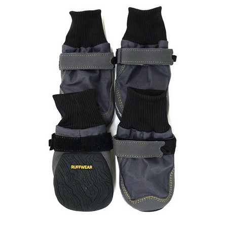 Ruffwear, Bark'n Boots Skyliner Boots, Gray, Large, (NEW)