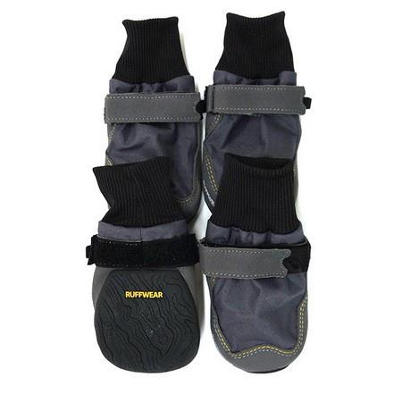Ruffwear, Bark'n Boots Skyliner Boots, Gray, Medium, (NEW)