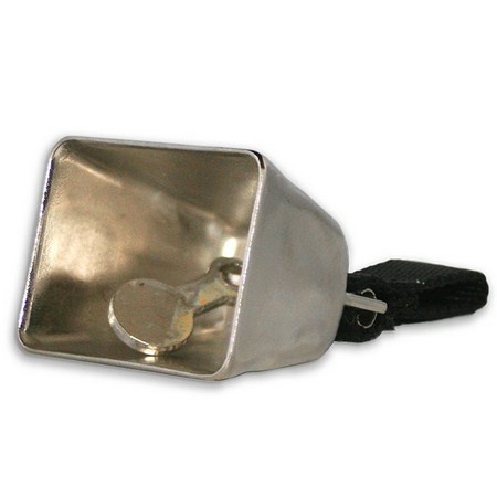 Scott, Large Cow Bell, Nickel