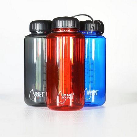Smart Source Tritan Water Bottle, 32oz/1000mL