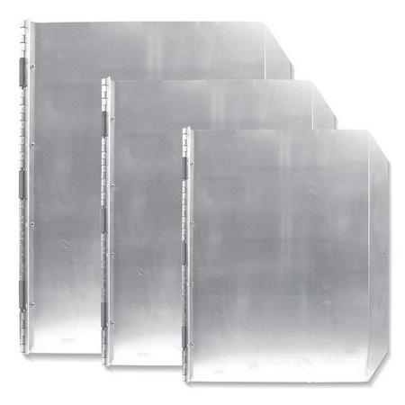 Solid Aluminum Door, Spring-loaded
