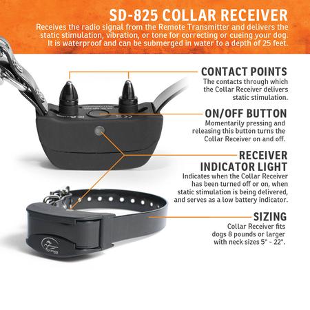 SportDog, SD-825, SportHunter A-Series 800 Yard Remote Trainer