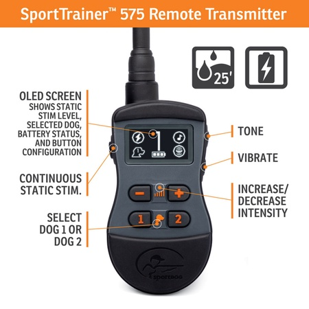SportDog, SportTrainer 575, Black
