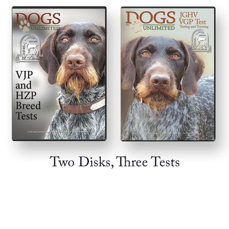 VDD-GNA, JGHV VJP, HZP and VGP Test Videos, DVDs