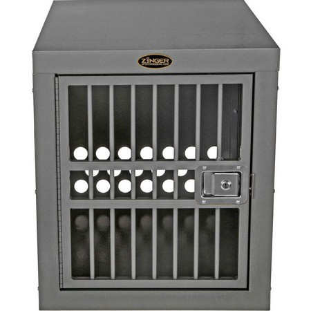 Zinger, Deluxe 3000 Aluminum Dog Crate, Front Entry