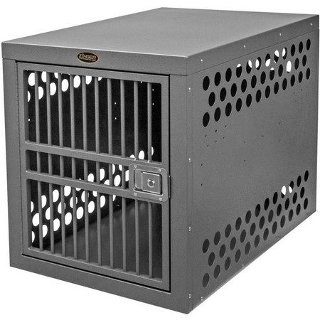 Zinger, Deluxe 4000 Aluminum Dog Crate, Front Entry