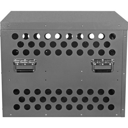 Zinger, Professional 3000 Aluminum Dog Crate with Escape Artist Upgrade Package, Front Entry