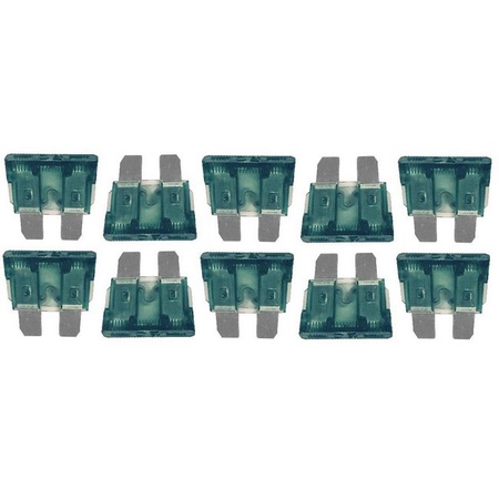30 Amp ATC/ATO Fuse 10 Pack