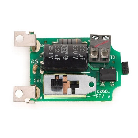 Andis 22681 AGC PC Board, 2-Speed 120V
