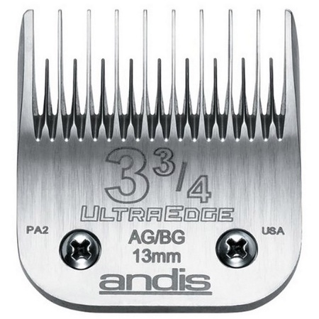 "Andis #3 - 3/4 Skip Tooth UltraEdge Clipper Blade 1/2"" - 13mm"