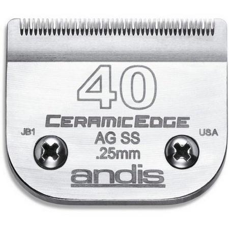 Andis 64350 Ceramicedge Clipper Blade, Size 40