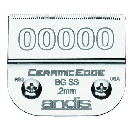 Andis 64730 Ceramicedge Clipper Blade, Size 00000