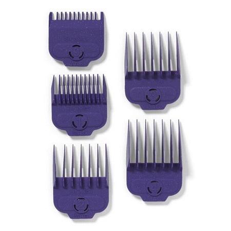 Andis 66345 Nano Silver 1-Magnet Attachment Comb Set