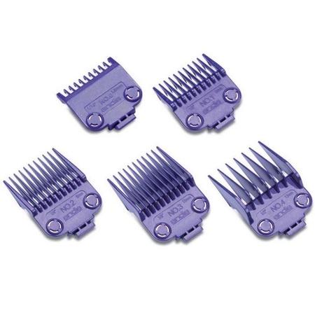 Andis 01410 Nano Silver 2-Magnet Attachment Comb Set