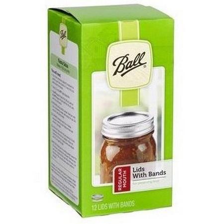 Ball 30000 Regular Canning Jar Bands and Lids