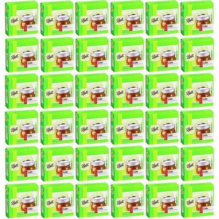 Ball 32000 Regular Dome Lids,  36 x 12 packs, 432pcs