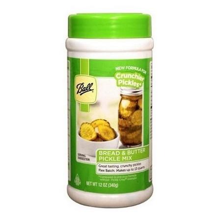 Ball 72505 Flex Batch Bread & Butter Pickle Mix, 12 Oz. Bottle
