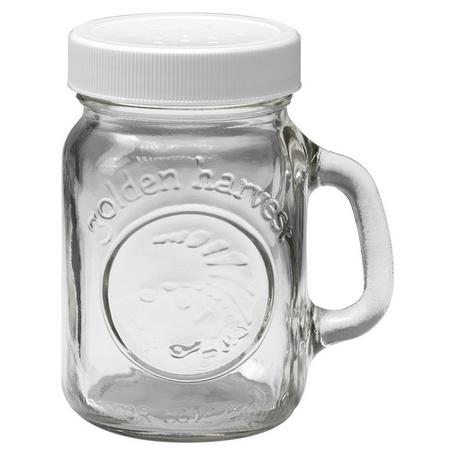 Ball Golden Harvest Mini Mason Canning Jar Salt & Pepper Shaker,
