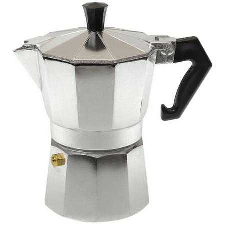 Bene Casa 17720 Aluminum Espresso Maker, 3 Cup