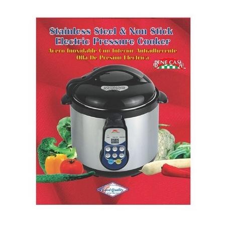 Bene Casa 82878 Electric Pressure Cooker