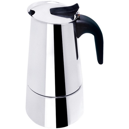 Bene Casa BC-40609 Stainless Steel 6-Cup Espresso Maker