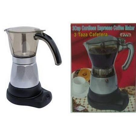 Bene Casa Bc-95511 Electric Espresso Maker, 3 Cups