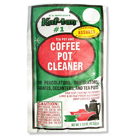 C. G. Whitlock's Kaf-tan KT-1 Coffee Pot and Tea Pot Cleaner