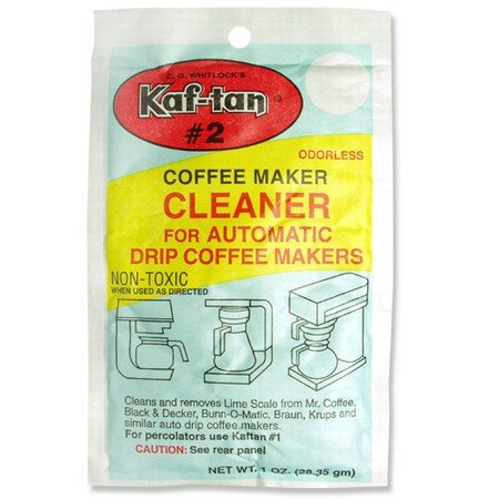 C. G. Whitlock's Kaf-tan KT-2 Coffee Maker Cleaner