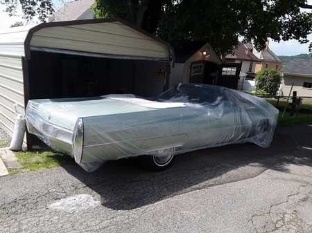 Car Condom Disposable Clear Plastic Car Truck and Van Cover with Elastic Band Large Size 24.6' x 15.75'