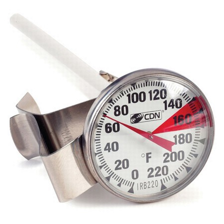 Cdn Irb220-f Insta-read Nsf Beverage & Frothing Thermometer