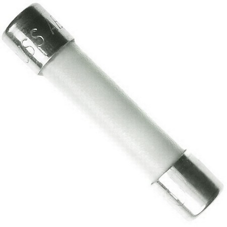 Ceramic Tube Fuse 25 Amp 250 Volt Fast Blow for Microwaves, etc.