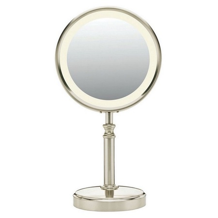 Conair Be116t Fluorescent Double-sided Lighted Mirror