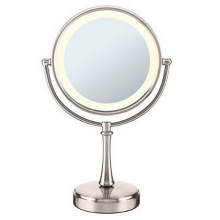 Conair BE87TSN.Touch Control Double Sided Lighted Mirror, Satin