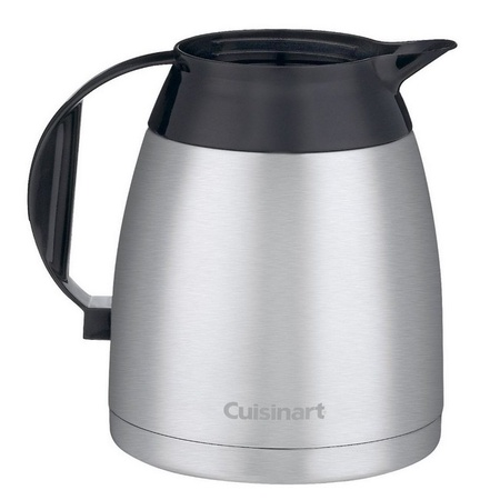 Cuisinart DTC-975TC12BSS Stainless Steel Thermal Replacement Carafe, 12-Cup
